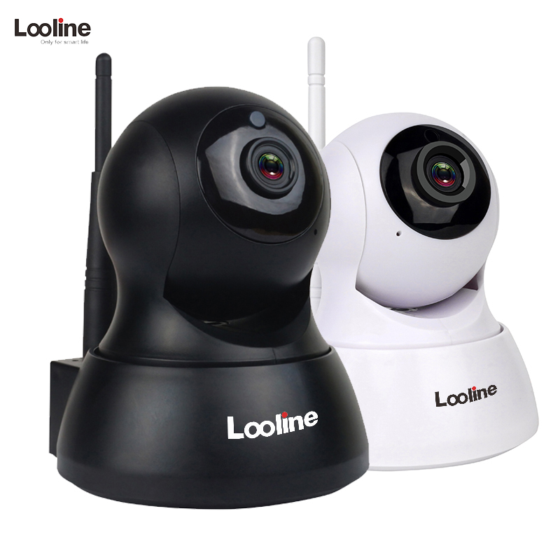 IP Camera Wi-fi wifi Looline Mini CCTV Security Camera System Module SD Card Record Night Vision Baby Monitor Wifi Camera IP<br>