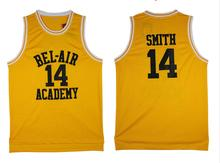 2016 Smith Basketball Jersey Number 14 Color Yellow Good Quality Basketball Jersey