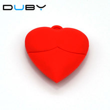 U Disk pen drive cartoon red heart best gift 64gb/32gb/16gb/8gb/4gb bulk usb flash drive flash memory stick pendrive mini cupid