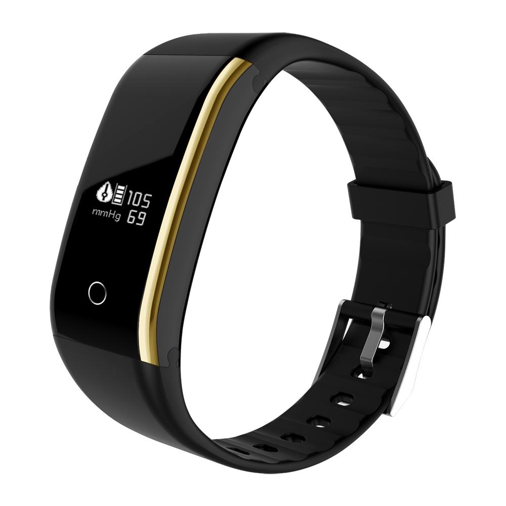 Waterproof Android Pedometer + Blood Pressure & Heart Rate Monitor Wrist Watch 26