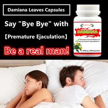 2 bottles Damiana LeavesPE. Capsules, Treat Premature Ejaculation Promote Sexual Wellness For Men Health Turnera,free shipping