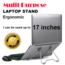 "Mulit purpose foldable suporte para notebook stand cooler for laptop cooling protable laptop table monitor holder  14"" 15"" 17"""