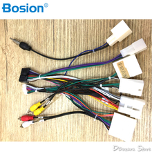 buy toyota wiring harness and get free shipping on aliexpress com  car iso radio wire wiring harness adapter for toyota stereo radio receiver wire harness cable(