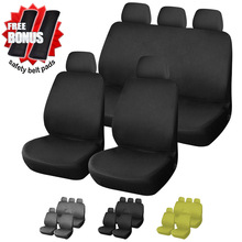 C8RB Universal Fashion Full set 9 Pieces Car Auto Interior Accessories Automotive Car Seat Cover - Buy and Get Bonus(China)
