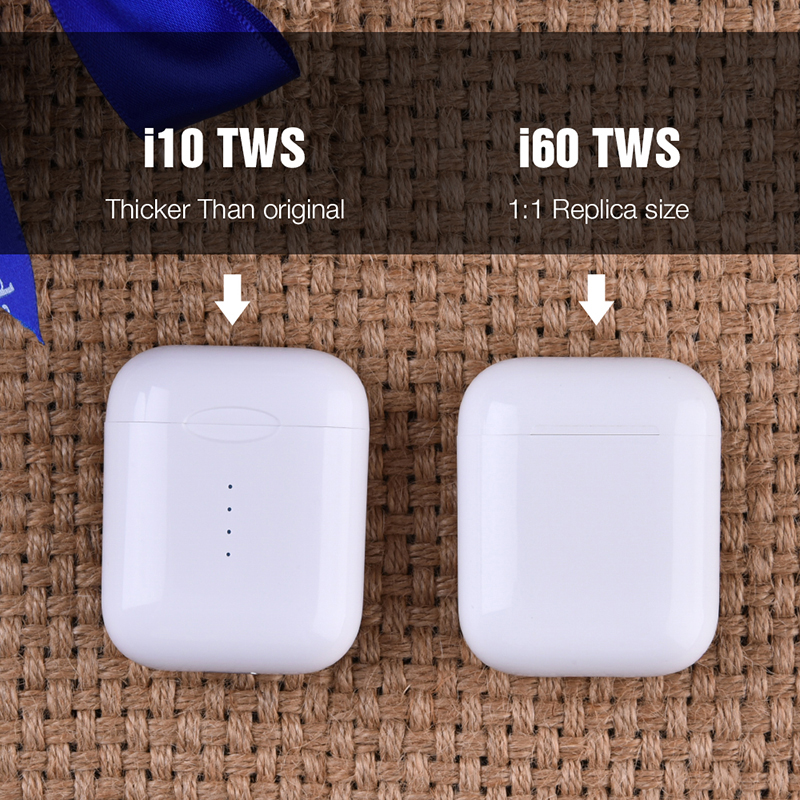 i60 TWS Original 11 Size Pop-up Wireless Headphones Air Bluetooth Earphone PK i30 i10 i12 i20 TWS Headset W1 Chip Earbuds Pods 3