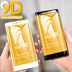Защитное закалённое стекло для телефонов Xiaomi Redmi