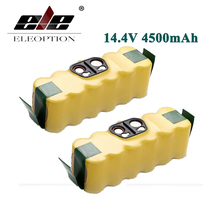 ELEOPTION High Capacity 4.5Ah Ni-MH 14.4V 4500mAh For iRobot Roomba Vacuum Cleaner Rechargeable Battery Pack for 500 550 560 780(China)