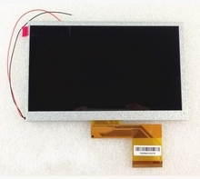 7INCH LCD Display Panel LCD Display Sreen for 7inch Allwinner A13 A10 Q8 Q88 MZ82 GB880 Tablet PC 165*104mm(China)