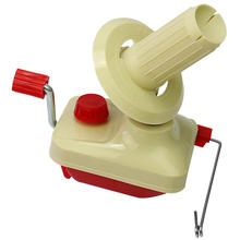 1pcs Hand-Operated Swift Yarn Fiber String Ball Wool Winder Holder Knitting Roll Coil Machine Home Use(China)