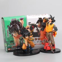 16-20cm anime Dragon Ball Z Drinking water Son Goku Yamcha PVC Action Figure Collection figures Scultures Big Model Toy Doll(China)