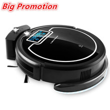 (Russia Big Discounts) Hot Sale Wireless Auto Robot Vacuum Cleaner For Home,with Water Tank,Wet&Dry,TouchScreen,Schedule,Virtual