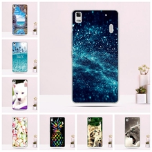 Buy Back Cover A7000 Lenovo K3 Note Case Silicone TPU Phone Cases Ultra Thin Cute Cat 3D Pattern Shell Animal Fundas for $1.14 in AliExpress store