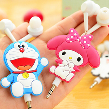 Retractable Kids Earphone Cute 3.5mm In-ear Cartoon Earbuds for iPhone Xiaomi Cellphone Mp3 for iPad fone de ouvido