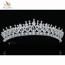 Peacock Star Bridesmaid Bridal Wedding Party Prom Quality Pageant Sparkling Austrian Crystal Tiara CT1543
