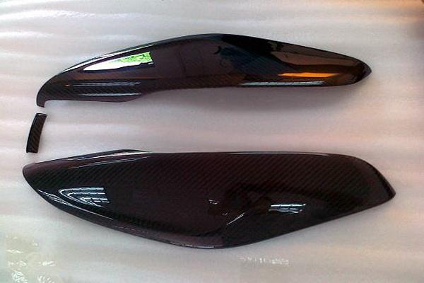 2011 A1 Carbon Center Console Side Cover(1) 1C-A1-CCSC-0001
