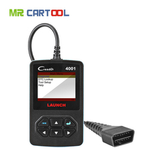 OBD2 Scanner CR4001 Read DTCs MIL freeze frame data professional auto diagnostic scan tool for Kia/Toyota/mazda Code Reader