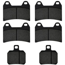 For DUCATI 696 +Monster 696Monster inc ABS models 2009 2010 2011 2012 Motorcycle Brake Pads Front Rear(China)