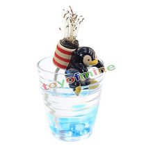 Hot Home Garden Office Self Watering Flowerpot Magic Animal Pot With Straw(China)