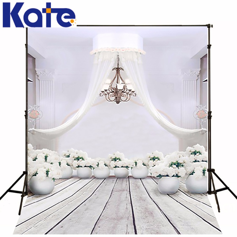 300Cm*200Cm(About 10Ft*6.5Ft)T Background White Flowers Curtain Photography Backdropsthick Cloth Photography Backdrop 3149 Lk<br>