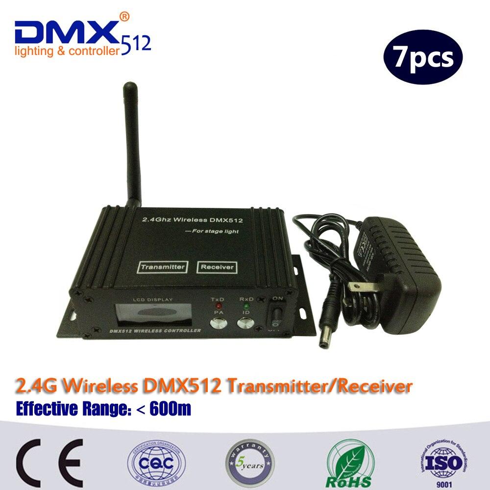 DHL/Fedex Free Shipping Factory Sell LCD DMX512 Digital DMX512 Transmitter &amp; receiver dmx wireless dmx512 controller<br>