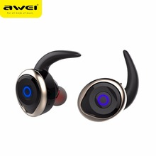 Newest Awei T1 Wireless Bluetooth Noise Cancelling Earphone Headsets Fone de ouvido Ecouteur Auriculares Bluetooth V4.2(China)