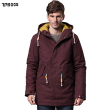 2016 new men's winter coat Fashion Jackets thick warm quilted Padded Cotton jacket