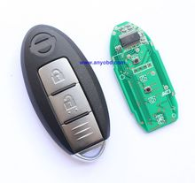 best quality, 2013 - 2014 for Nissan X-Trail , Qashqai 2 button smart remote key control 433mhz , keyless entry go push start