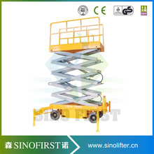 Top quality 4 -18m hydraulic mobile  hydraulic scissor lifter table platform