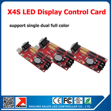 Serial and usb input display control card X4S for p2.5 p3 p4 p5 p6 p7.62 p8 p10 p16 led modules led signs advertising display(China)