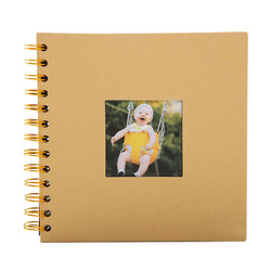 2019 фотоальбом юбилейный подарок фотоальбомы креативные 40 страниц фотоальбомы альбом для скрапбукинга крафт бумажный фотоальбом