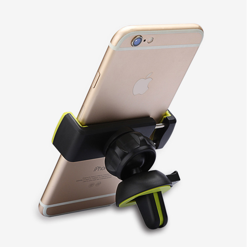 Car Mobile Phone Holder Air Vent Monut Holder Stand Universal 360 Degree Adjustable Car Clip For iPhone X 8 7 5 SE 6 6S Plus (13)