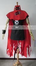 Hot Anime Final Fantasy Vincent Valentine Cosplay Costume Christmas Party Dress Custom-made Any Size Free Shipping NEW