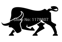 9 Colors Spanish Bull Animal Die Cut Vinyl Decal For Car Rear Windshield Truck Bumper Auto Door Laptop Kayak Art Wall Sticker