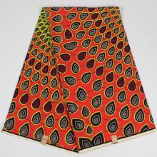 Holland Wax Pagne Africain Super Wax Hollandais At A Loss The New Listing African Fabric Ankara African Wax Prints Fabric(China)
