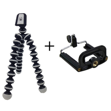 Hot Universal Holder Flexible Octopus Tripod Bracket Selfie Stand with Adjustable holder Clip For GoPro Camera Smart Phone