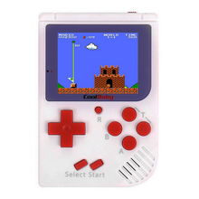 Coolbaby RS-6 Portable Retro Mini Handheld Game Console 8 bit 2.0 inch LCD Color Colour Children Game Player Built-in 129 Games(China)