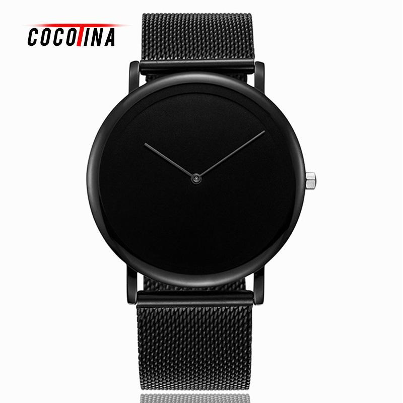 COCOTINA Ultra Slim Male Watch Brand Luxury Stainless Steel Strap Fashion Quartz Watch Men Relogio Masculino LSB01258<br>