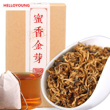 C-HC005 Yunnan black tea 100g Chinese Kung Fu cha Fengqing Dianhong tea red early spring honey fragrance gold buds large leaves