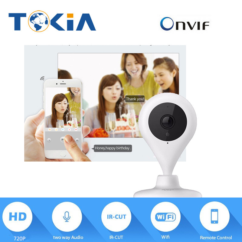 720P WIFI IP English Version night vision Camera two way audio support 128G SD Card Network WIFI Camera wifi security camera<br>
