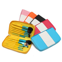 12 Hole Protable Make Up Bag Cosmetic Brush Bag Travel Hanging Bag Makeup Brush Organize Bag