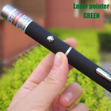 2017 5mw Laser Pointer Green Laser powerful point presenter remote lazer pointer for teaching hunting camping(No battery)