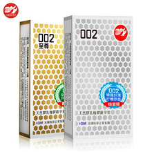BeiLiLe 20pcs/lot The Thinnest Condoms 002 In The World! Ultra Thin But Super Strong Condoms for Men Sex Products(China)