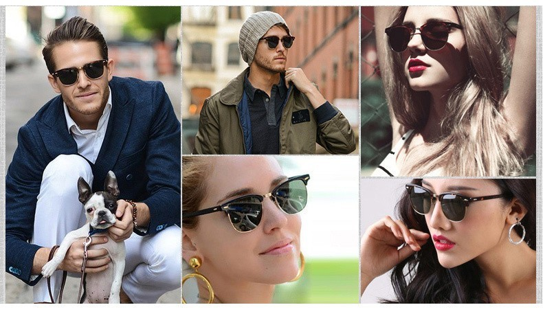Luxury Square Men Sunglasses Women Brand Designer 2017 Retro Vintage Sun Glasses For Women Men Male Lady Female Sunglass Mirror (3)
