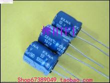 2015 Black Limited Electrolytic Capacitors Kit 50pcs New Elna Ina Robe For Audio Capacitor 10v1000uf Re3 10x12.5 Free Shipping(China)