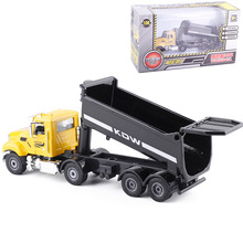 High simulation alloy car model,1:50 scale alloy Engineering vehicles,Transport vehicles,Dump truck,box gift toys,free shipping