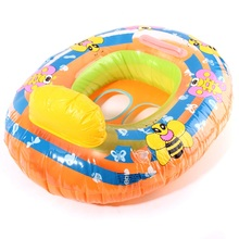 High Quality Kids Baby Child Inflatable Swimming laps Pool Swimming Ring Seat Float Boat Outdoor Funny Water Sports Toys