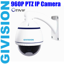 "4"" onvif ip camera 1.3MP 960P hd network mini PTZ 10x optical zoom security indoor outdoor surveillance Speed dome ip camera"