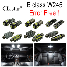 14pcs LED license plate bulb interior light Kit Mercedes Mercedes-Benz B class W245 B150 B160 B170 B180 B200 (05-11)