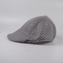 052dee94dcf High quality men Breathable beret full mesh beret caps male summer  casquette caps fitted berets summer hats casual cap wholesale