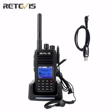 DMR Digital (GPS) Professional Retevis RT3 Walkie Talkie 1000CH VHF/UHF CTCSS/DCS DTMF Portable Two Way Radio+A Free Cable A9110(China)